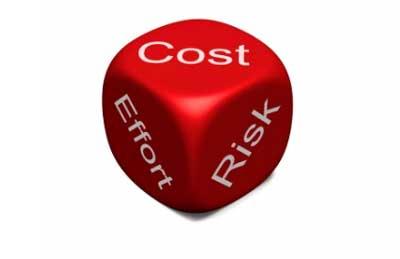 Cost - Effort - Risk