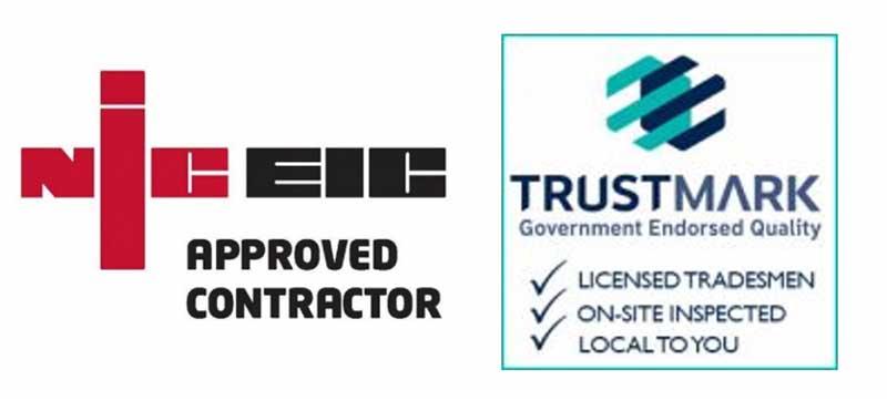 NICEIC Trustmark logos